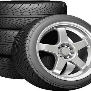 Wheel & Tires Set